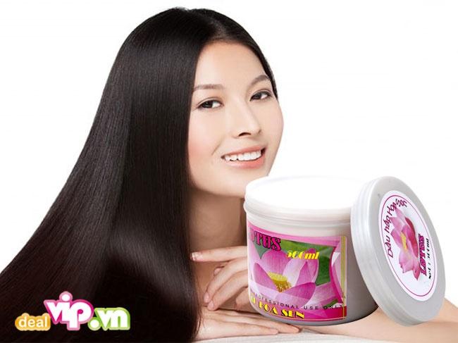 dầu hấp tóc hoa sen 3