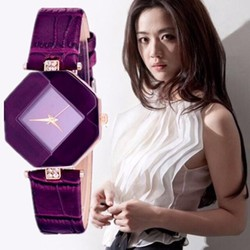 Đồng hồ đeo tay nữ cá tính ĐH09 tím