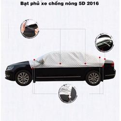 Bạt chống nóng 5D cho xe hơi