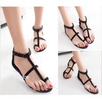 Giày Sandal xỏ ngón đính đá