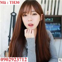 Tóc Giả Nữ Hàn Quốc Tặng Lưới - TH30