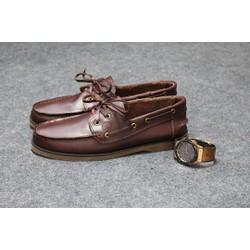 giày da nam timberland nâu