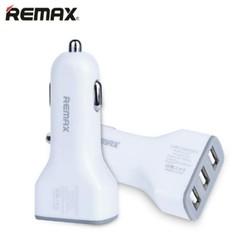 Sạc xe hơi 3 cổng USB REMAX