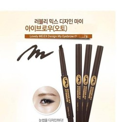 Chì kẻ chân mày The Face Shop Lovely MEEX Design My Eyebrow