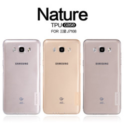 Ốp lưng Samsung Galaxy J7 -2016 , silicon trong suốt - hiệu Nillkin
