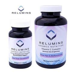 Viên uống trắng da Relumins Advance Nutrition Glutathione 60 vien