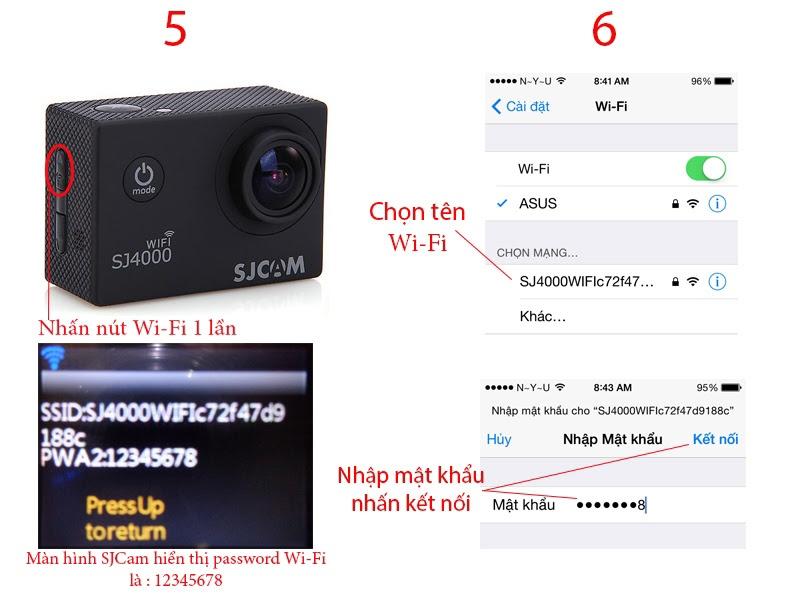 Camera thể thao SJCAM 4000 Wifi chính hãng 15