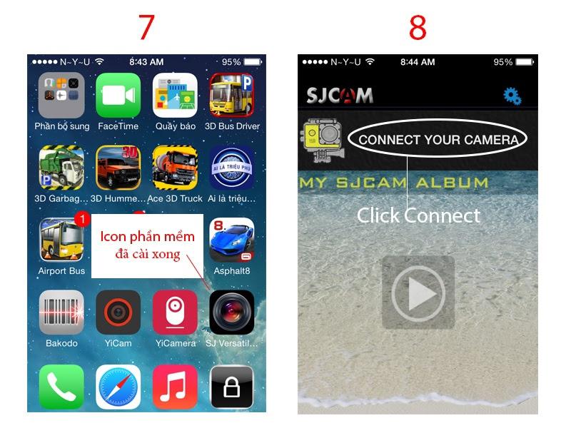 Camera thể thao SJCAM 4000 Wifi chính hãng 16