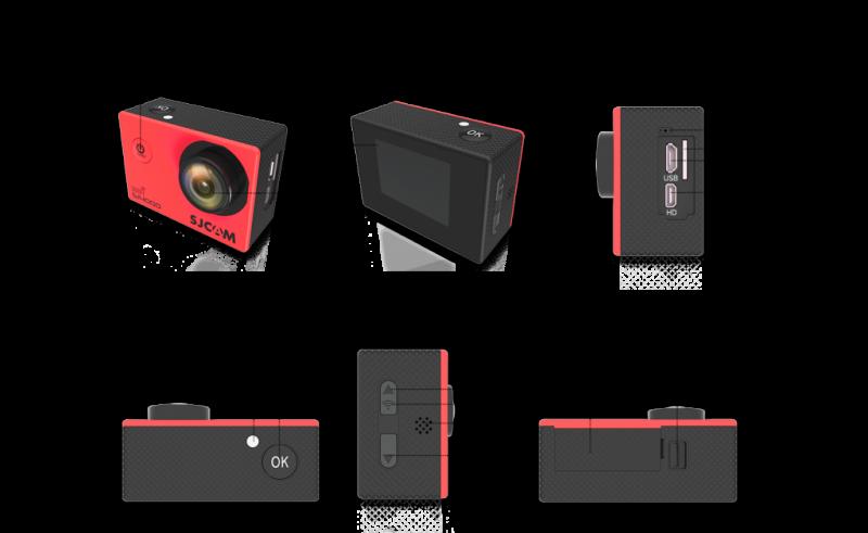 Camera thể thao SJCAM 4000 Wifi chính hãng 8