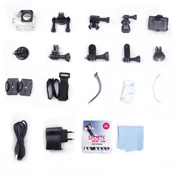 Camera thể thao SJCAM 4000 Wifi chính hãng 11