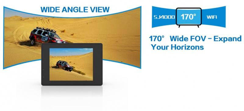 Camera thể thao SJCAM 4000 Wifi chính hãng 4