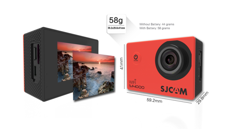 Camera thể thao SJCAM 4000 Wifi chính hãng 7