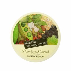 KEM TẨY TRANG HERB DAY CLEANSING CREAM 5 COMBINED CEREAL