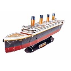 Xếp giấy thông minh 3D mô hình tàu