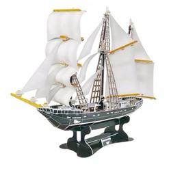 Xếp giấy thông minh 3D mô hình thuyền buồm