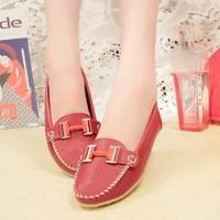 Giày Lười Đính Khóa Nữ-MS: CH185