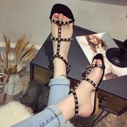 HÀNG LOẠI I CAO CẤP - GIày sandal đinh tán xinh