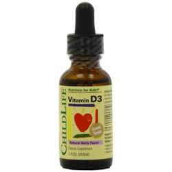 Bổ sung vitamin D3 cho bé - Mỹ