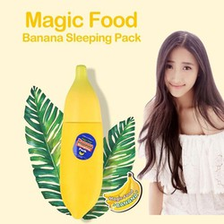 Mặt nạ ngủ chuối Tonymoly Magic Food Banana Sleeping Pack