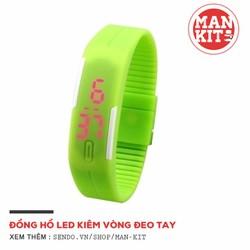 Đồng hồ LED Sport Unisex - Xanh chuối