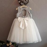 Đầm dự tiệc cho bé yêu từ 1 đến 5 tuổi -  VX518