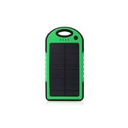 Pin sạc dự phòng năng lượng mặt trời 5000mAh  xanh