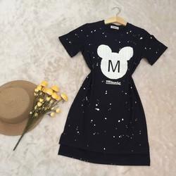 Đầm Suông Mickey Dễ Thương