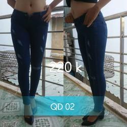 Quần jean dài - Lưng cao