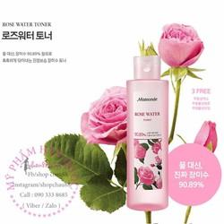 Nước hoa hồng Mamonde Rose Water Daily Skin Toner