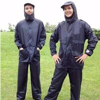 Áo mưa bộ vải dù cao cấp XXL