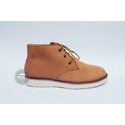 giày cao cổ da bò nam