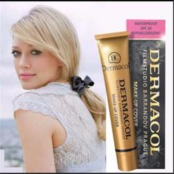 Chính hãng - Kem nền Dermacol Make-up Cover tone 207