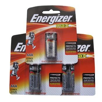 Bộ 06 viên pin ENERGIZER Alkaline AAA- 3A