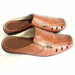 Giày Sabo Nam Da Bò Bít Mũi Thời Trang