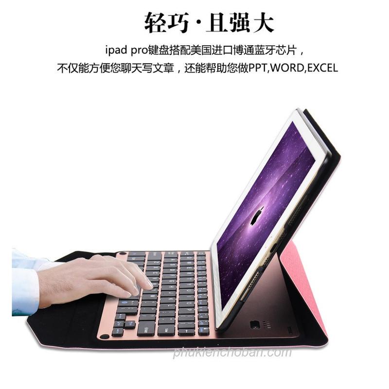 Bàn phím bluetooth bao da dành cho iPad Pro 9.7 9