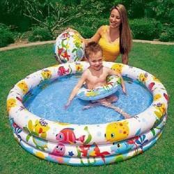 Bộ bể bơi 3 tầng INTEX kèm phao cho bé yêu