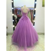 áo cưới tím giá mềm mại