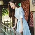 Tao nhã với đầm vintage phong cách Nhật