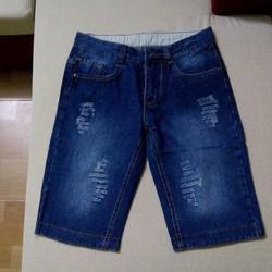 Quần Shorts Jeans Nam Hàn Quốc - Giá Gốc