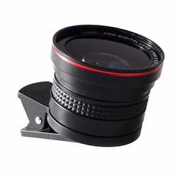 Ống kính 2 trong 1 chụp ảnh smartphone góc rộng - macro LIEQI LQ-025