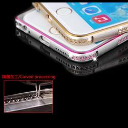 Ốp viền iPhone 5 - 5S đính đá Coteetci Chính hãng iPhone 5 - 5S