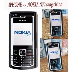 Ốp lưng iPhone 4-4s dẻo hình Nokia N72