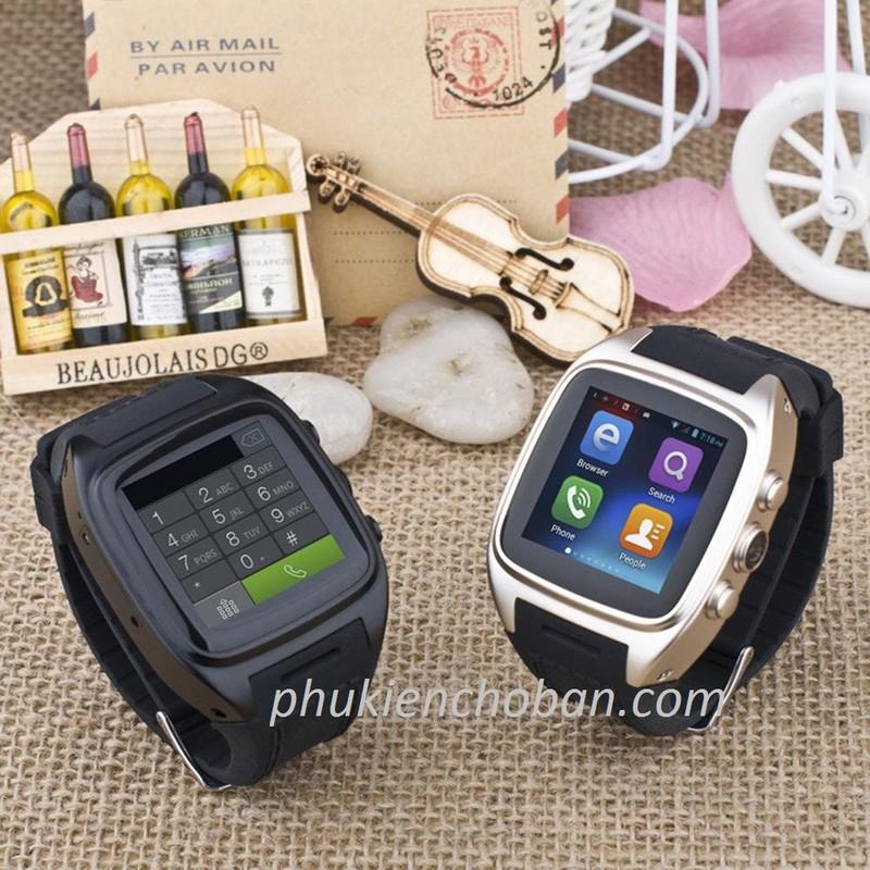 Đồng hồ thông minh gắn sim Z1 smartwatch wifi chống nước bh 12 tháng 8