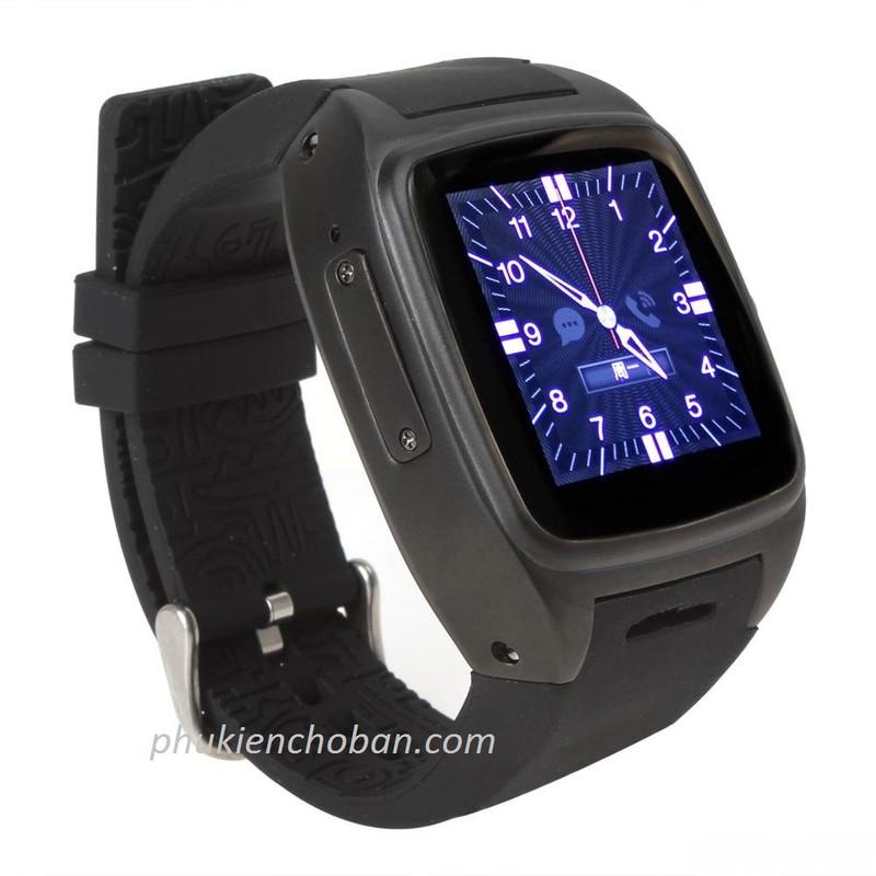Đồng hồ thông minh gắn sim Z1 smartwatch wifi chống nước bh 12 tháng 7