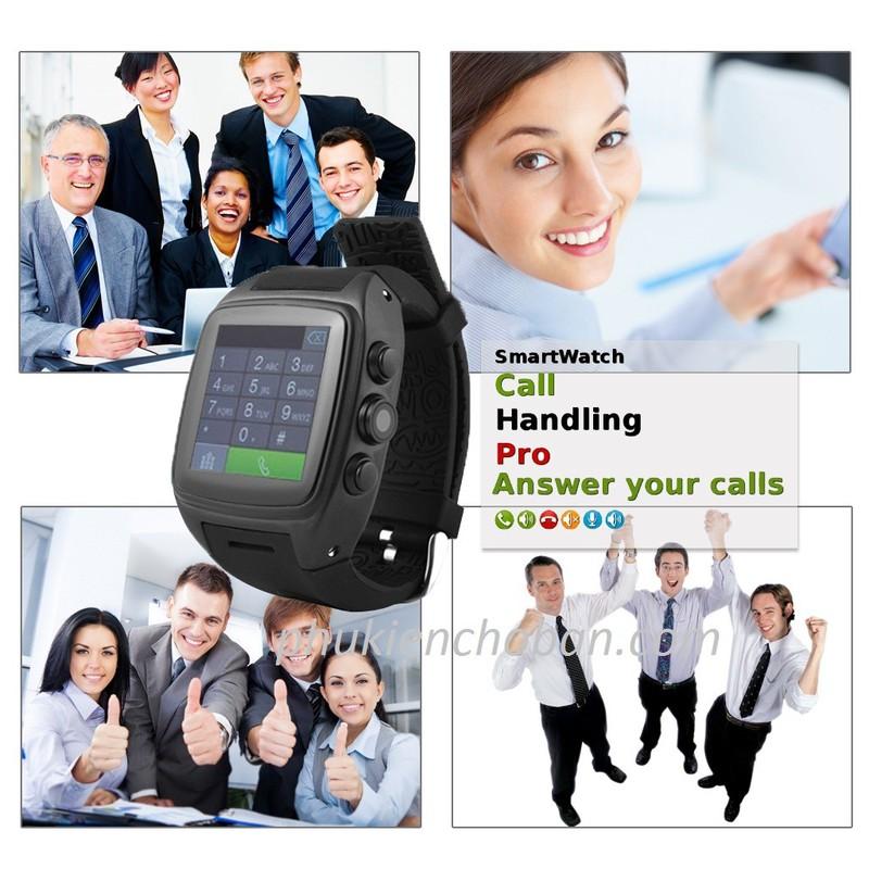 Đồng hồ thông minh gắn sim Z1 smartwatch wifi chống nước bh 12 tháng 3