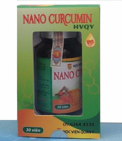 Nano curcumin Nghệ Vàng HV QUÂN Y tẩy độc gan, chống nhăn, sạm nám 1