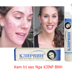 Kem trị sẹo Nga KJINP BNH