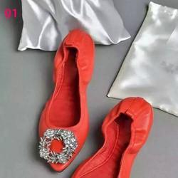 Giày búp bê nhiều màu đa dạng kiểu cách