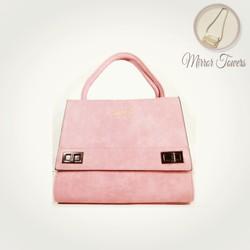 túi xách công sở thời trang nữ đẹp màu hồng đào