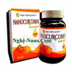 Trị viêm loét dạ dày Nanocurcumin